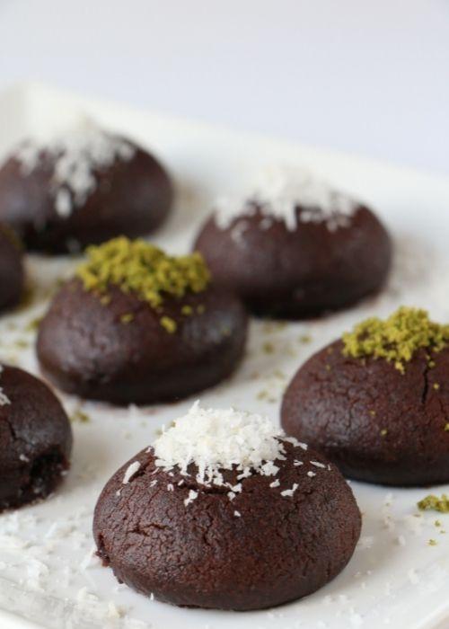 şerbetli brownie kurabiye tarifi
