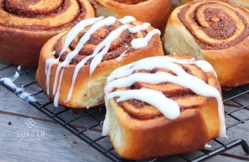 cinnamon rolls tarçınlı rulo